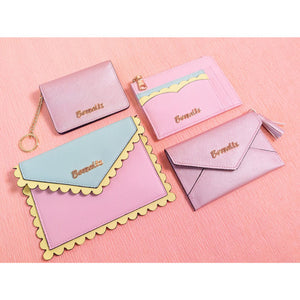 Ella Scallop Card Holders