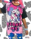 Fight Me T-Shirt - Pink