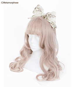 Holiness Cameo Ribbon Headband - Ivory