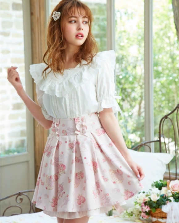 Sweet Savon Skirt - Pink
