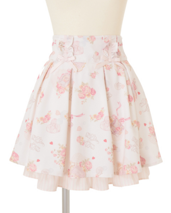 Sweet Savon Skirt - White