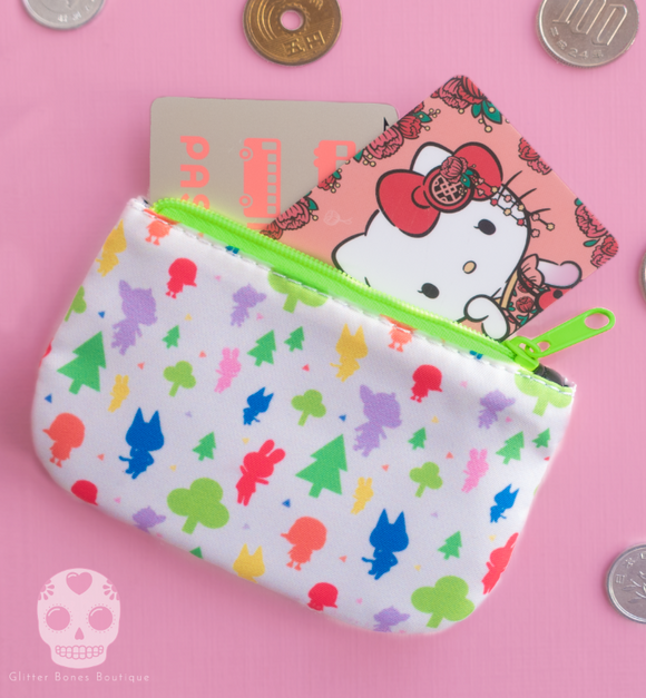 Animal Villagers Mini Coin Purse