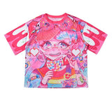 @pop_gensyoku x ACDC RAG Collaboration Shirt - Crazy Sprinkle