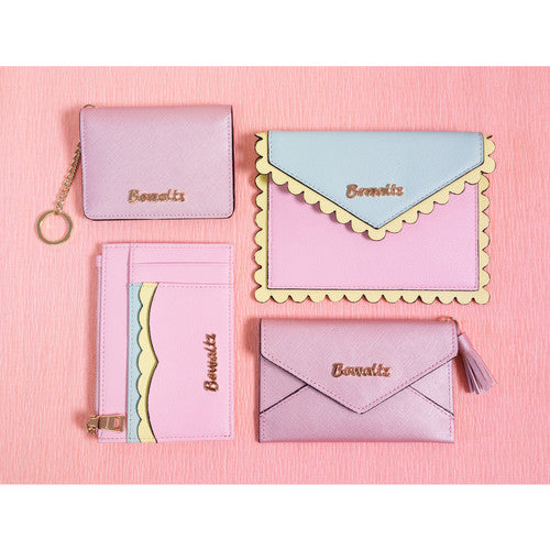 Ella Scallop Envelope Wallets