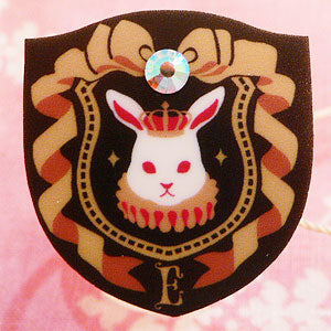 Royal Crest of the Bunny Kingdom Dolled-Up Ring