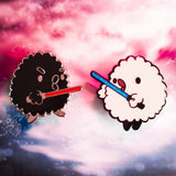 Dark Side of Fluff Pin