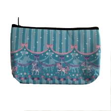 Sweet Dream Carousel Makeup Bag - Mint