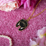 Black Bats Necklace