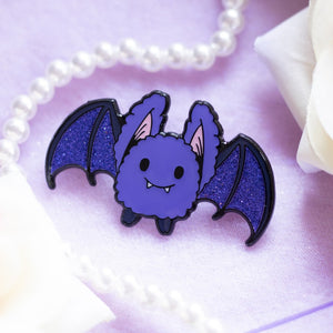 Fluffy Bat Pin