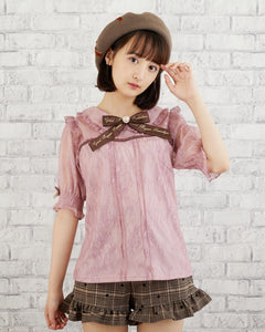 Lace Blouse - Pink
