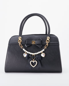 Bijou Ribbon Bag - Black