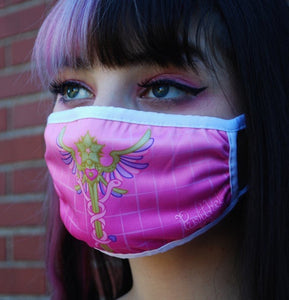 Magical Girl First Aid Dust Masks - Pink