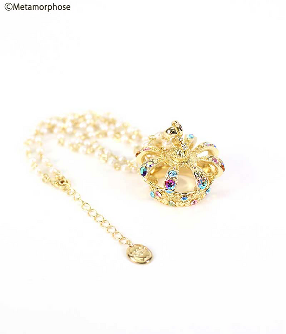 Couronne mignonne Necklace - Multicolor