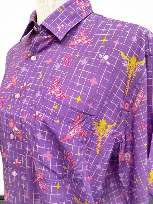 Magical Dad First Aid Shirt - Lavender