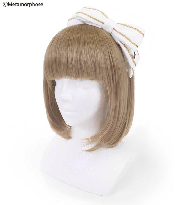 Sailor Ribbon Headband - Off White