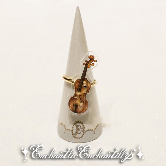 Violin Dolled-Up Ring