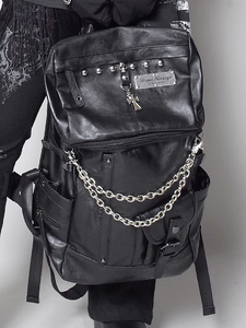 Black Large Backpack