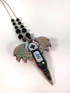 MGFA Thermometer Necklace - Rainbow