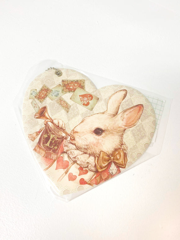 Rabbit Heart Passcase - Telling the Time of the Tea Party