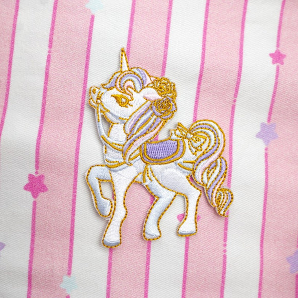 Unicorn Pony Iron-On Patch