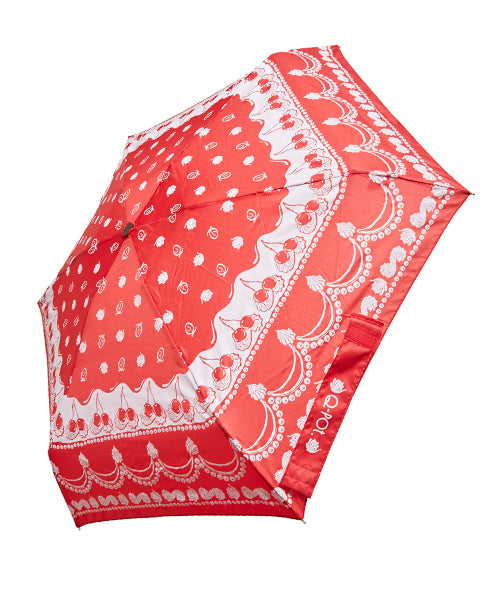 Cherry Whpped Cream Umbrella