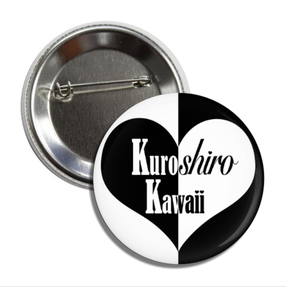 Kuroshiro Kawaii Supporter Button Bundle