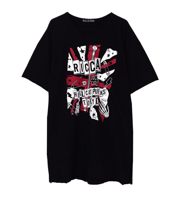 Ricca x HELLCATPUNKS Collaboration T-Shirt