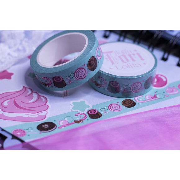 Sweet Chocolate Journey Washi Tape