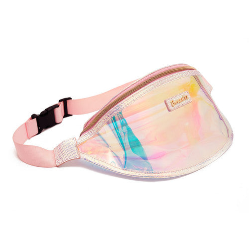 Holographic Jelly Fanny Pack