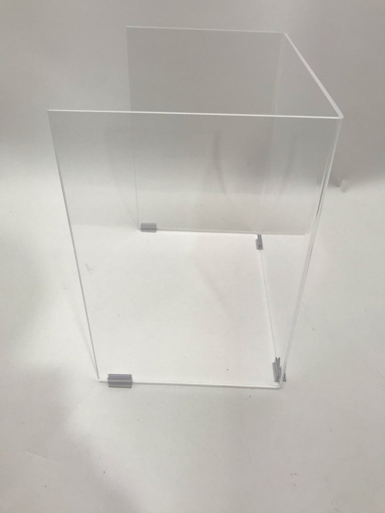 Student Desk Free-Standing Barrier (No Base) for School College University - Fast Acrylic