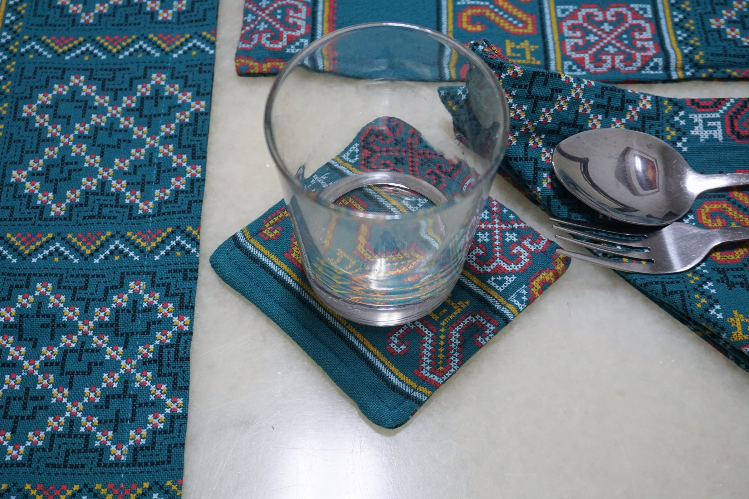 Hmong Cup Coasters