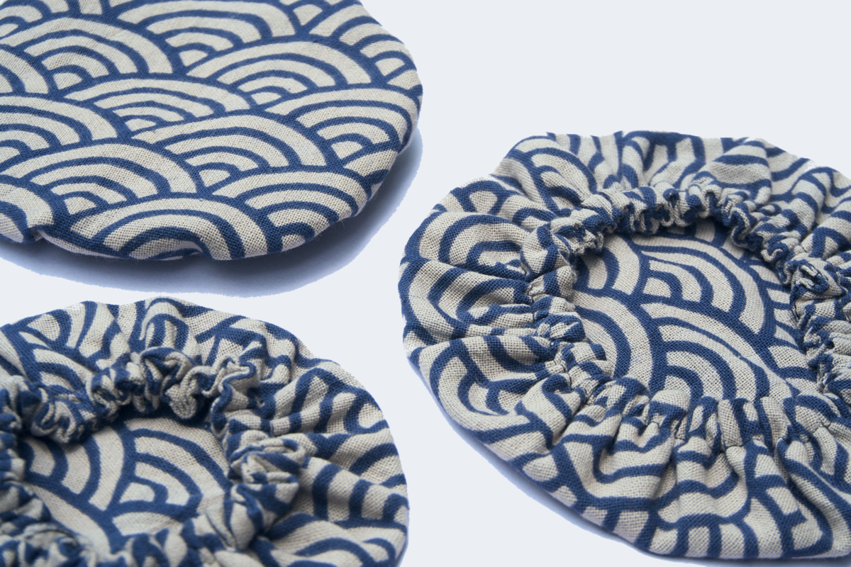 Indigo Bowl Covers (Elastic)