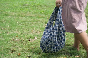 Indigo Market Tote (Bloom)