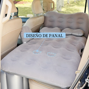 Cama inflable con cabecera