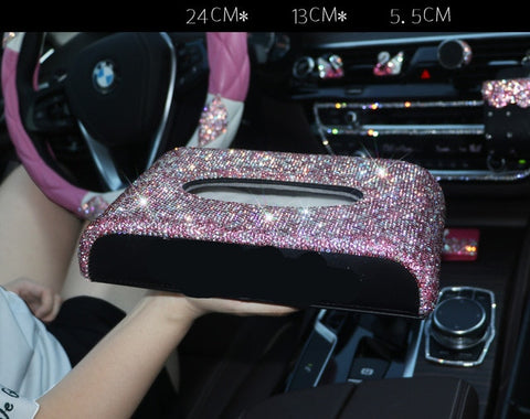 Image of Accesorios color Rosa para Interior de Coche