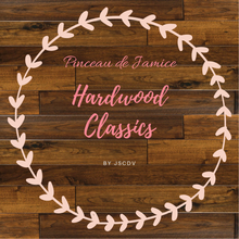 "Load image into Gallery viewer, Pinceau de Jamice ""Hardwood Classics"""