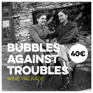 BUBBLES AGAINST TROUBLES