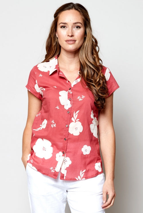 chemisier-voile-coton-hibiscus-pomegranate-Nomads-Clothing-commerce-equitable