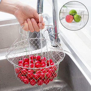 Multi-Function Foldable Chef Basket