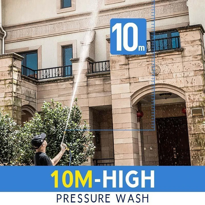 2-in-1 High Pressure Power Washer-Great For Your Garden Work