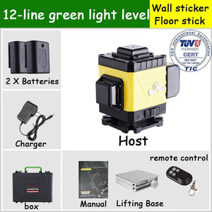 DEKE™ 4D Green Beam Laser Level