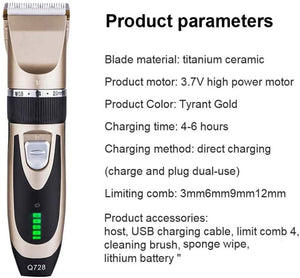 Hair Trimmer Grooming Kit