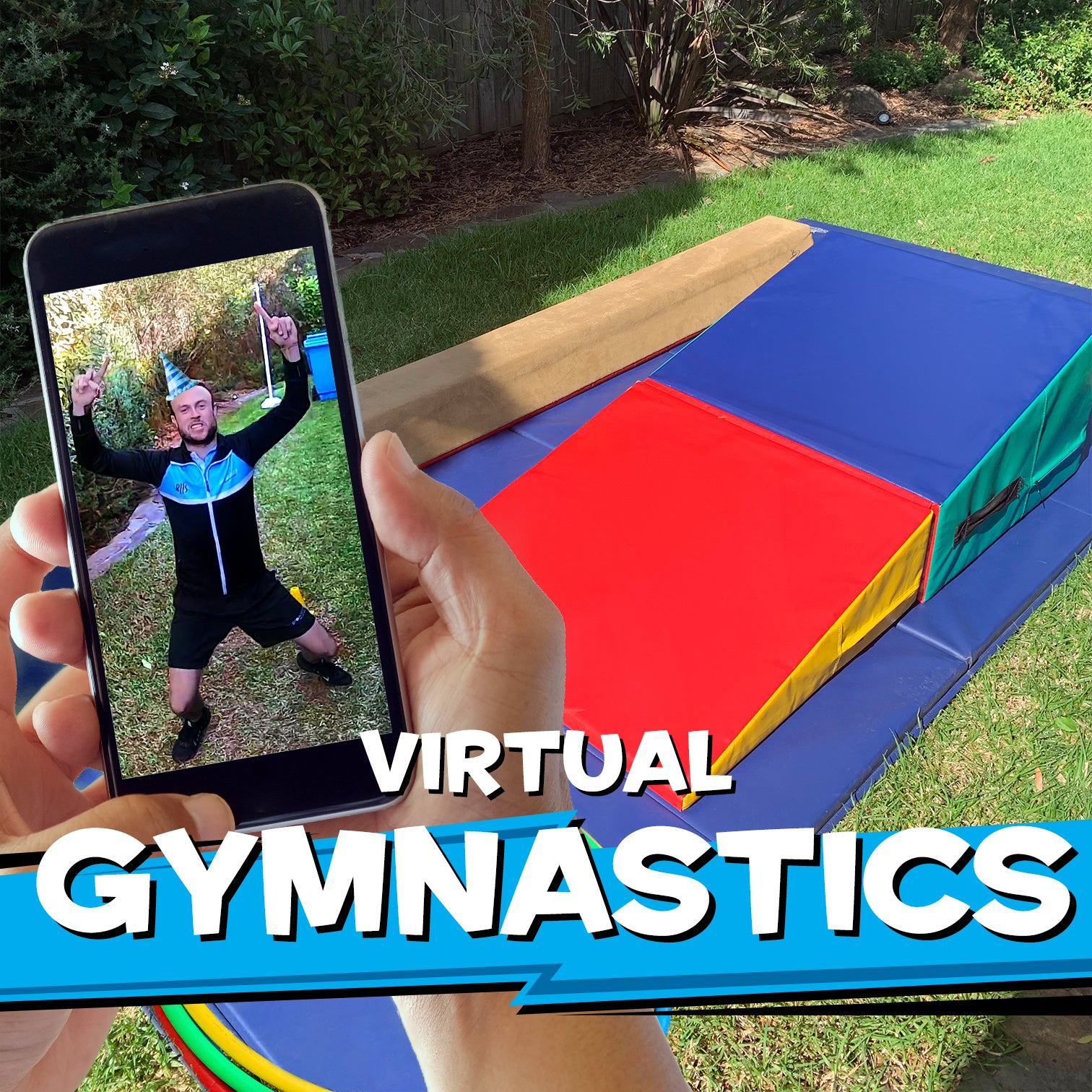 Virtual Gymnastics Party Pack