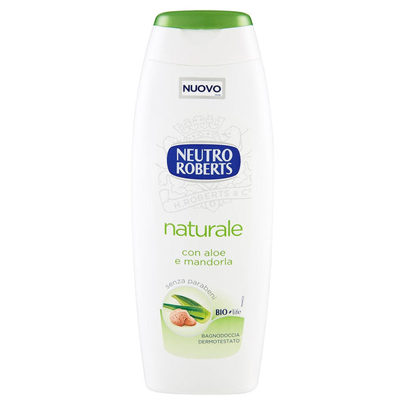 Bagnoschiuma naturale Neutro Roberts 500 ml