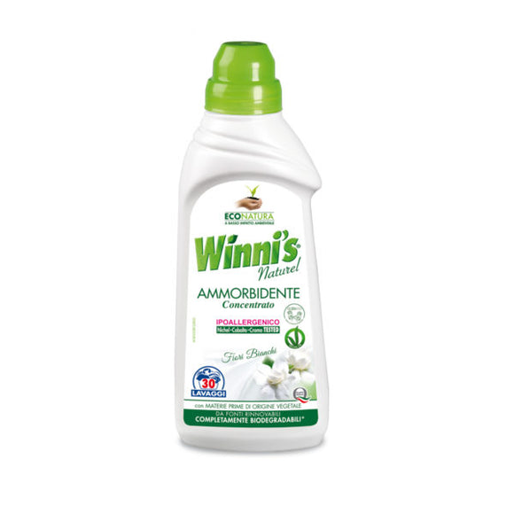 Ammorbidente Concentrato Fiori Bianchi Winni's Naturel 30 lavaggi 750 ml
