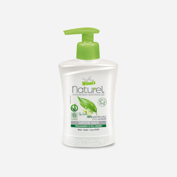 Sapone Mani Thè Verde Winni's Naturel 250ml