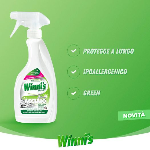 Splendi acciaio Winni's Naturel 500ml