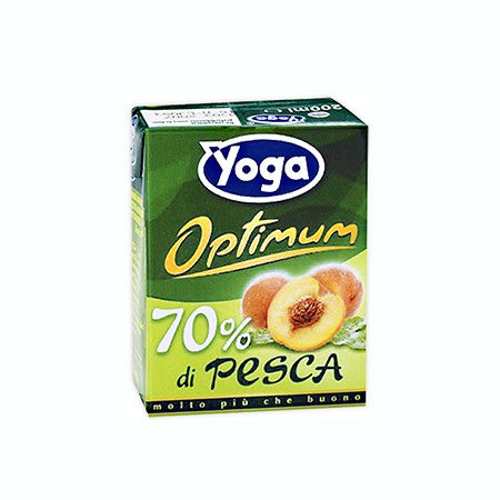Succo Yoga Pesca Brick 3 x 200ml