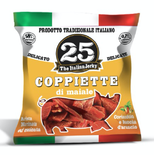 Coppiette gusto Delicato 25 The Italian Jerky 25 gr