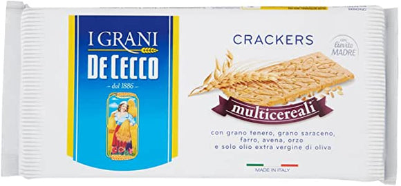 Crackers multicereali De Cecco 250 gr